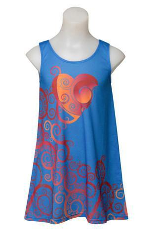 Dream heart - Girl's love boho dress - deezo the happy fashion