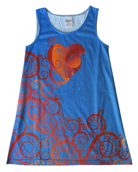 Dream heart - Girl dress - Dresses deezo the happy fashion