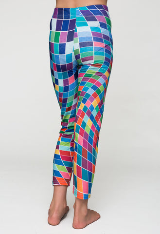 pixelmania - printed girls leggings