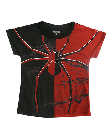 Red back spider - Boys T shirts - Tops, Shirts & T-Shirts deezo the happy fashion