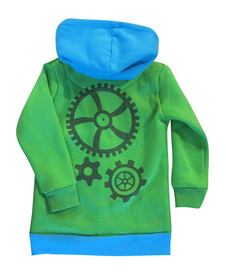 Cogs - kids hoodie - jackets deezo the happy fashion