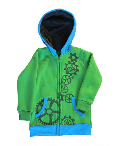 Cogs - kids hoodie - deezo the happy fashion