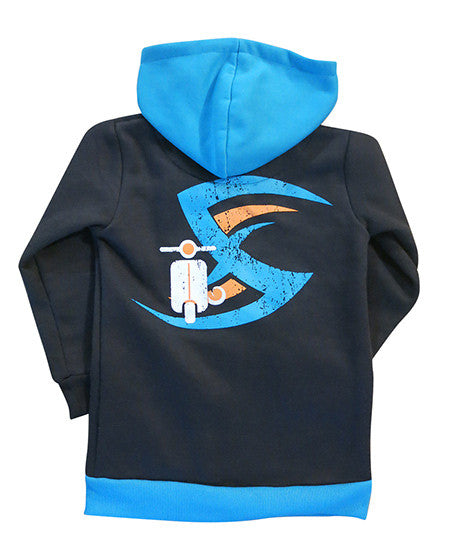 Vespa boys hoodie - deezo the happy fashion