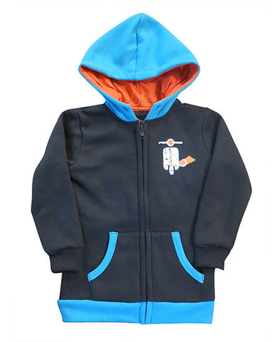 Vespa boys hoodie - jackets deezo the happy fashion