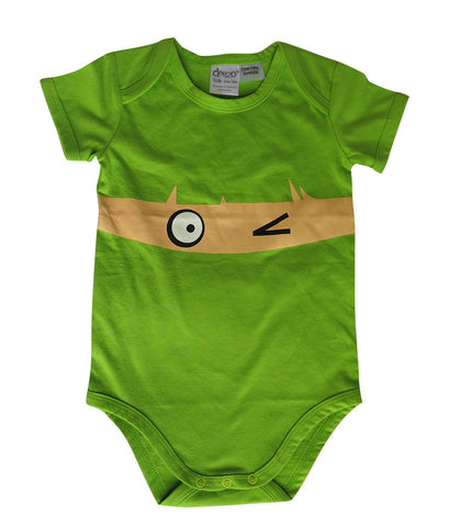 Wink on lime baby suit - deezo the happy fashion