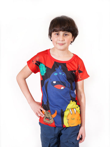 Monsters  - Boys T shirts