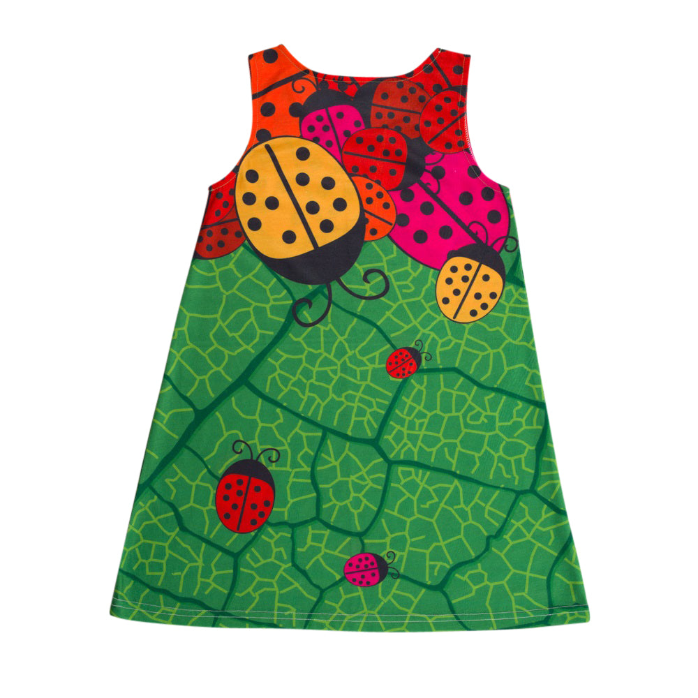 BEETLES A-Line Girls Swing Dress - deezo the happy fashion