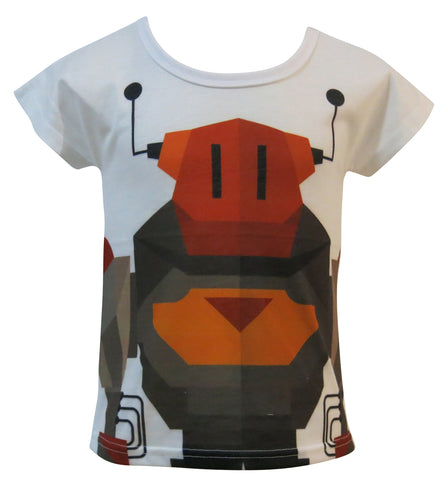 Cubic Robot. Game on! kids T-shirt - deezo the happy fashion