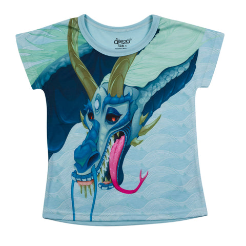Dragon Kids T-shirt - deezo the happy fashion