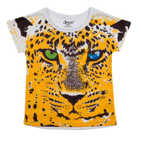 Tiger Kids T-shirt - deezo the happy fashion