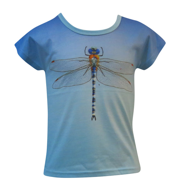 Dragonfly -  kids and toddlers T-shirt - deezo the happy fashion