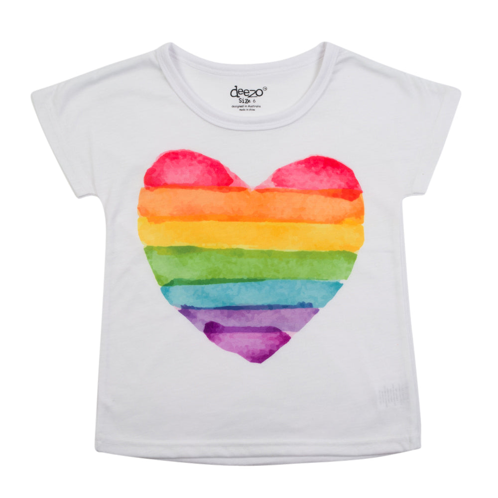 Love 4 All - Rainbow T-Shirt - deezo the happy fashion