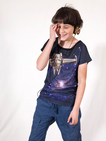 Space  - Boys T shirts