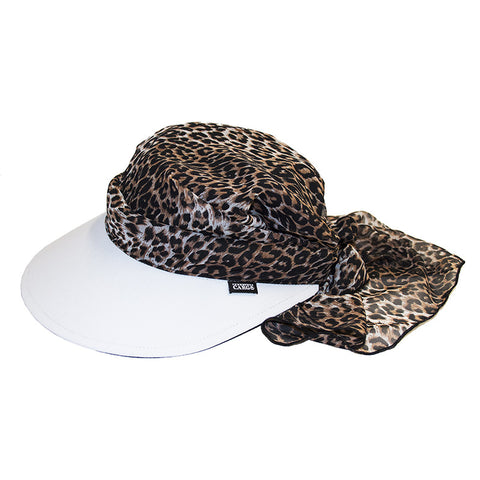 Veil Visor || White & Animal