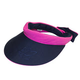 Reversible Visor || Hot Pink & Navy