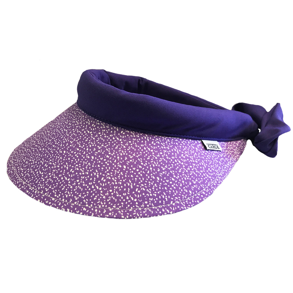 Visor ||  Mauve Splash- Purple