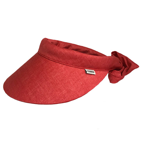 Reversible Visor || Cooper Red