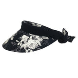 Reversible Visor  || White Rose-Sch Navy