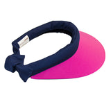 Visor || Hot Pink & Navy