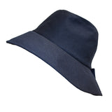 Wet Weather Bucket Hat  || Navy