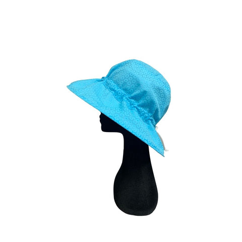 Summer Floppy Hat - B- Out Aqua