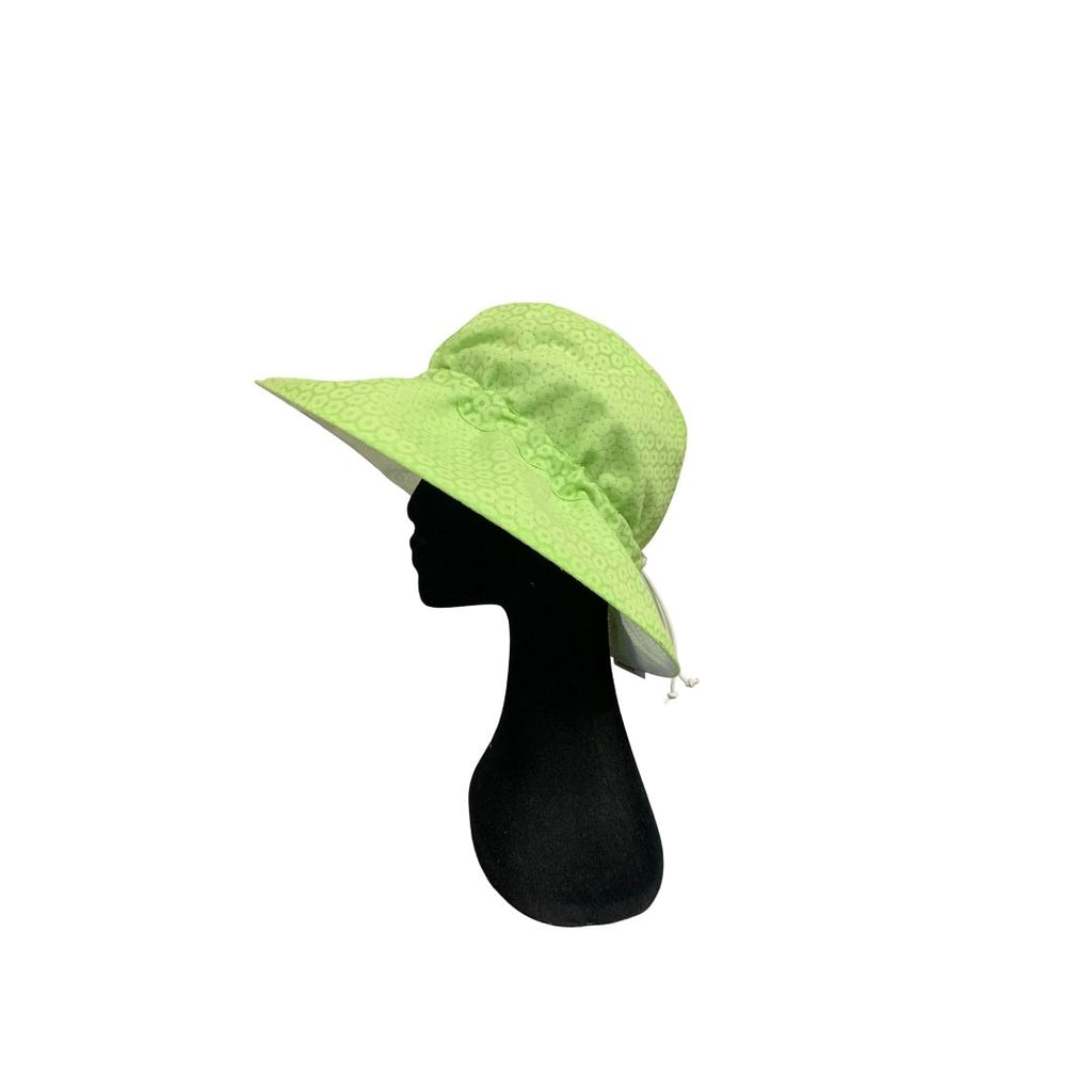 Summer Floppy Hat - B- Out Lime