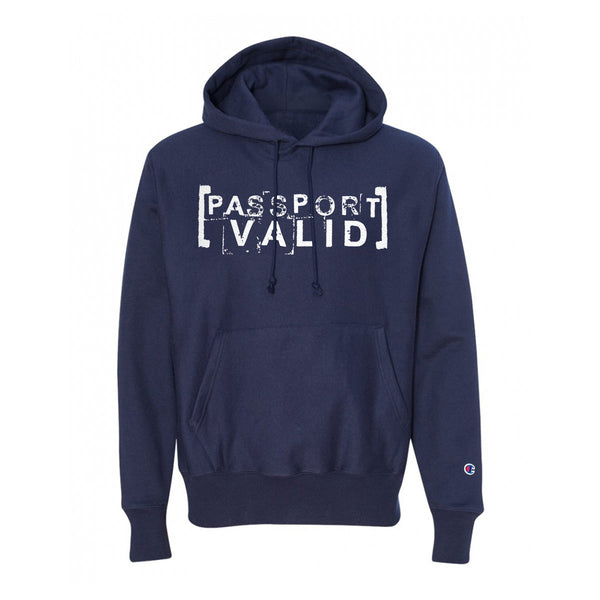 Passport Valid X Champion™ Stamp of Approval Hoodie