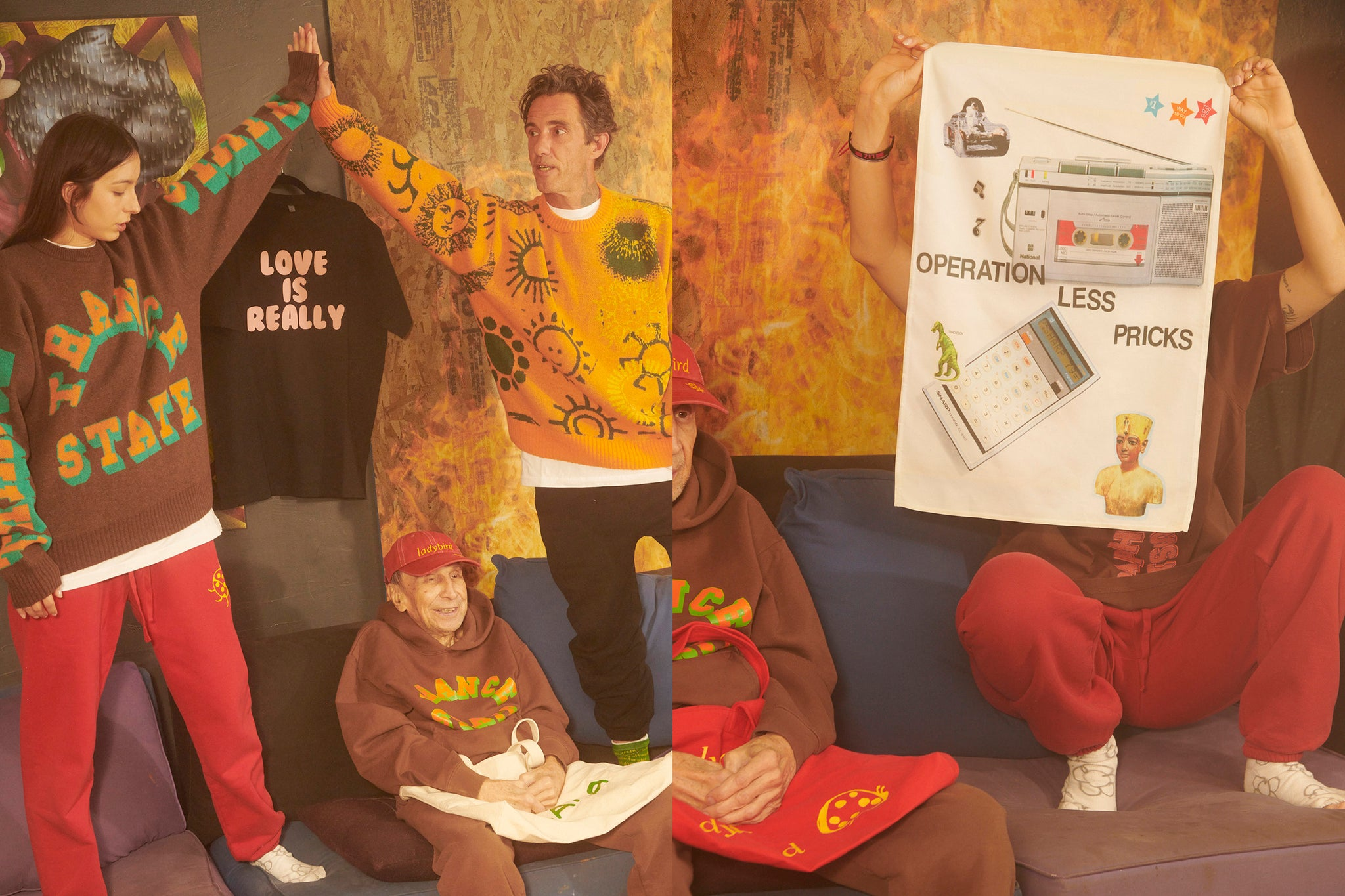 A POSITIVE MESSAGE II lookbook by Jason Nocito