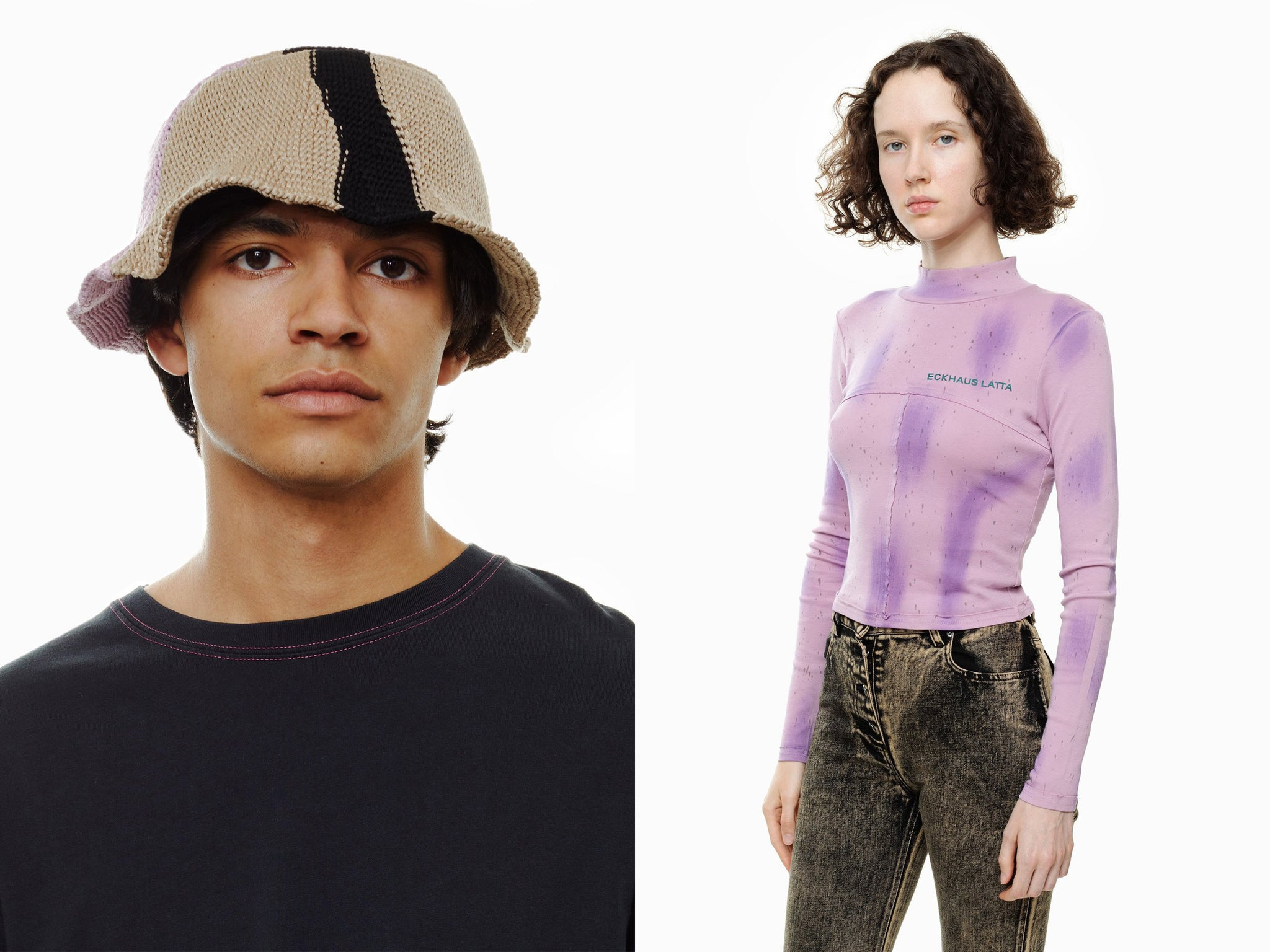 ECKHAUS LATTA AW20 tops and hats