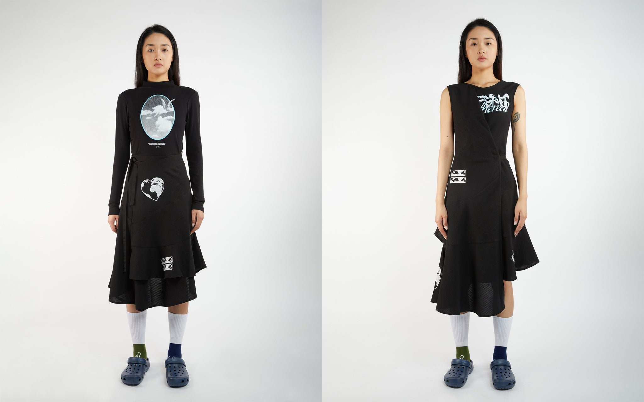 """PAM SS21 """"NU/AGE"""" Assemblage Dress and Skirt"""