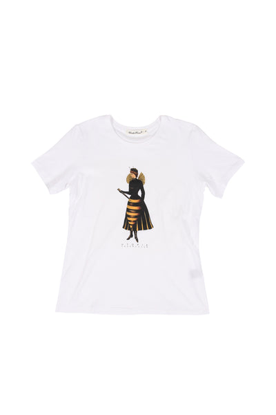 UNDERCOVER WOMENS - BEE S/S T-SHIRT
