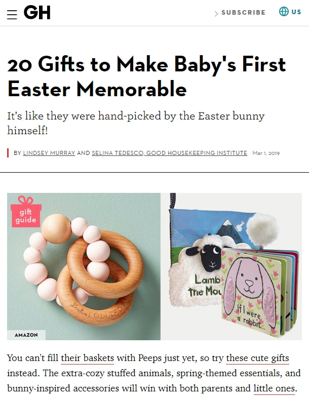20 Gifts to Make Baby's First Easter Memorable