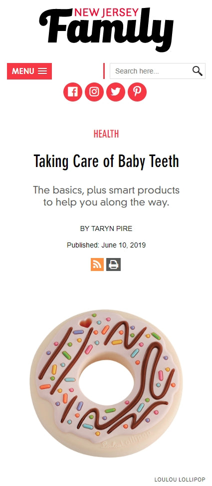 Taking Care of Baby Teeth: The basics, plus smart products to help you along the way.