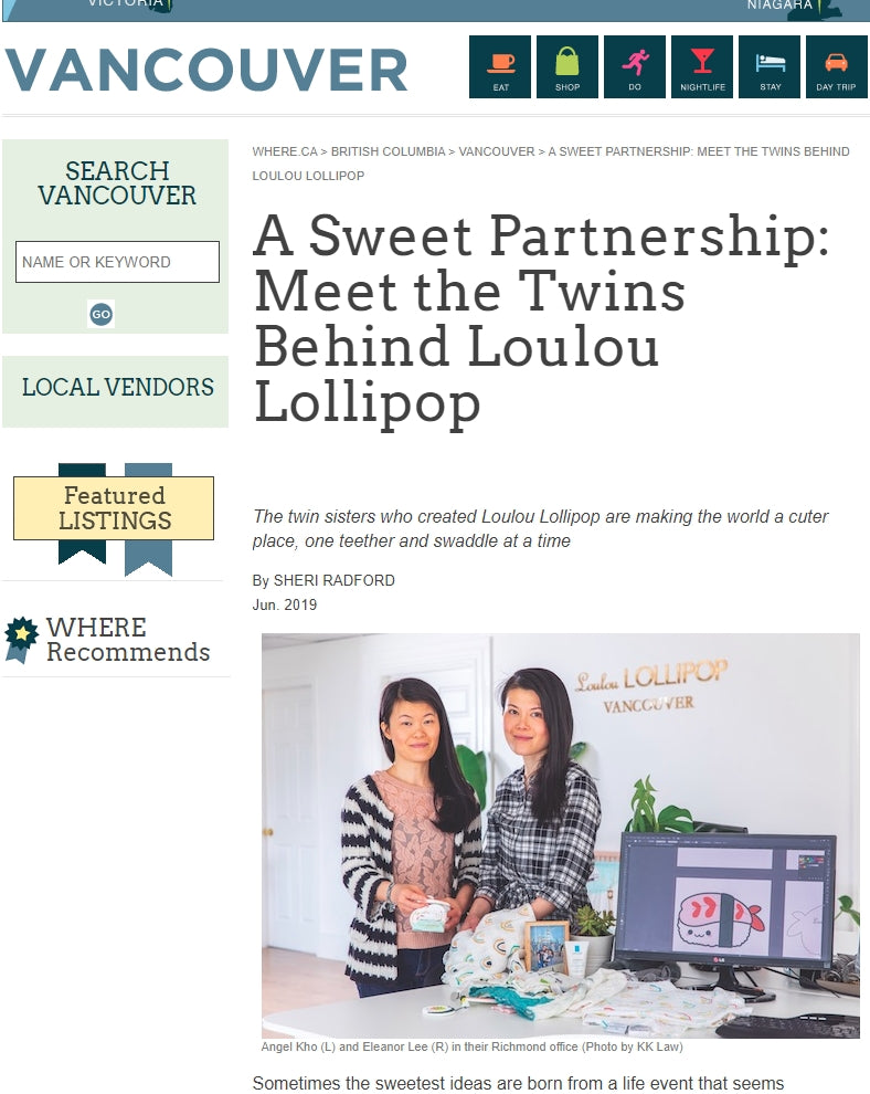 A Sweet Partnership: Meet the Twins Behind Loulou Lollipop