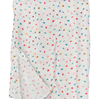 Muslin Swaddle - Butterfly Dots