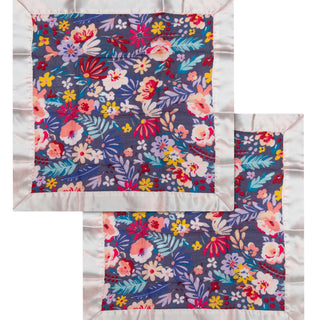 Security Blanket 2-pk - Dark Field Flowers