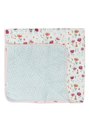 Muslin Quilt Blanket - Rosey Bloom