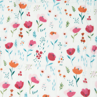 Muslin Swaddle - Rosey Bloom