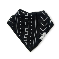 Muslin Bandana Bib Set - Mud Cloth