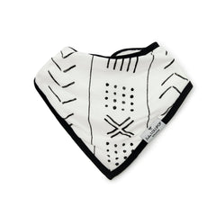 Bandana Bib Set - Mud Cloth