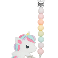 loulou lollipop baby teethers rainbow baby unicorn silicone teether