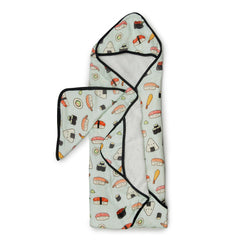 Hooded Towel Set - Sushi