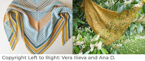 Crocheted Shawl images