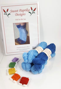 Fish in the Sea Socks Kit