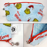 Seasonal Zippered Pouch