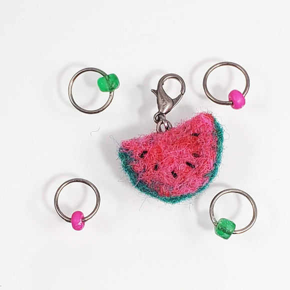 Felted Stitch Marker Sets
