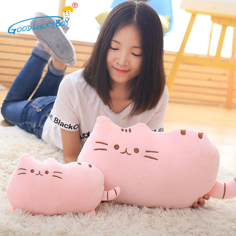 *** NEW *** Cat Plush Toy Stuffed Animal Cushion Pillow