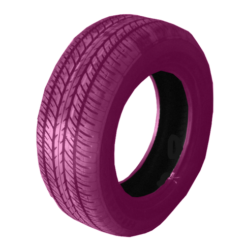 185/60R14 Highway Max - HOT Pink Smoke