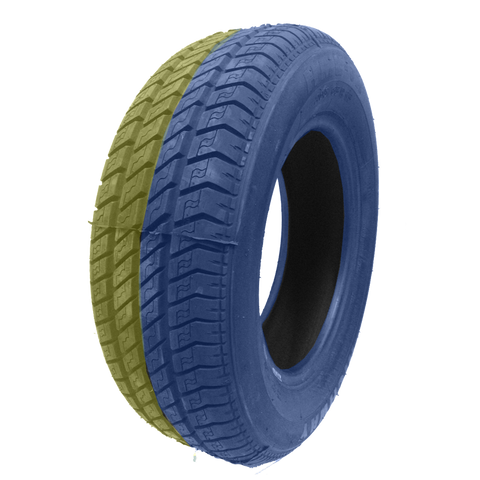 215/60R16 Highway Max - DUAL SMOKE Blue & Yellow