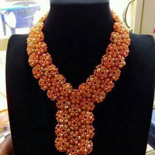 Gold And Pearl Necklace Set With Kundan Work Social Proof Demo Store